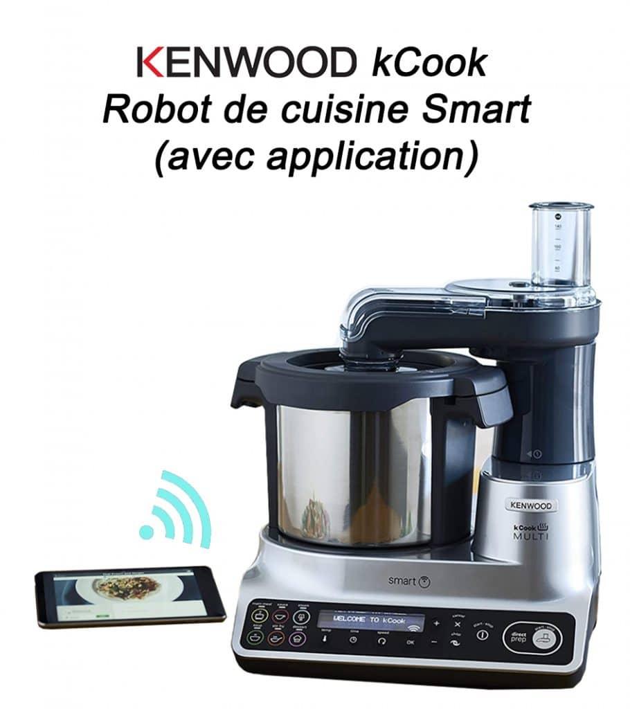 Robot cuisine multifonctionKenwood kCook Robot de cuisine Smart (avec application)