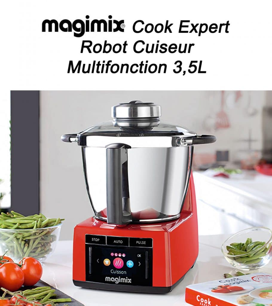 Univers robot avis Magimix-–-Cook-Expert-18900-Robot-Cuiseur-Multifonction-35L