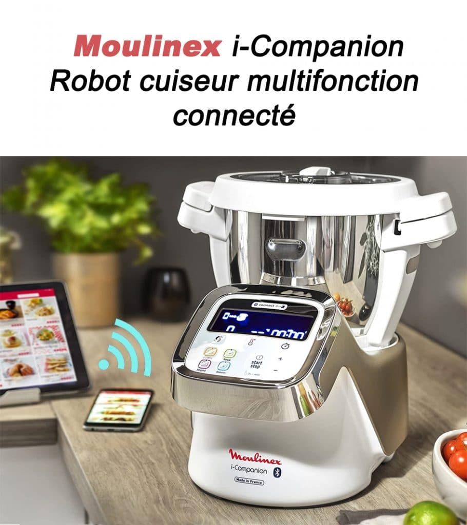 Moulinex i-Companion robot multifonction universrobot