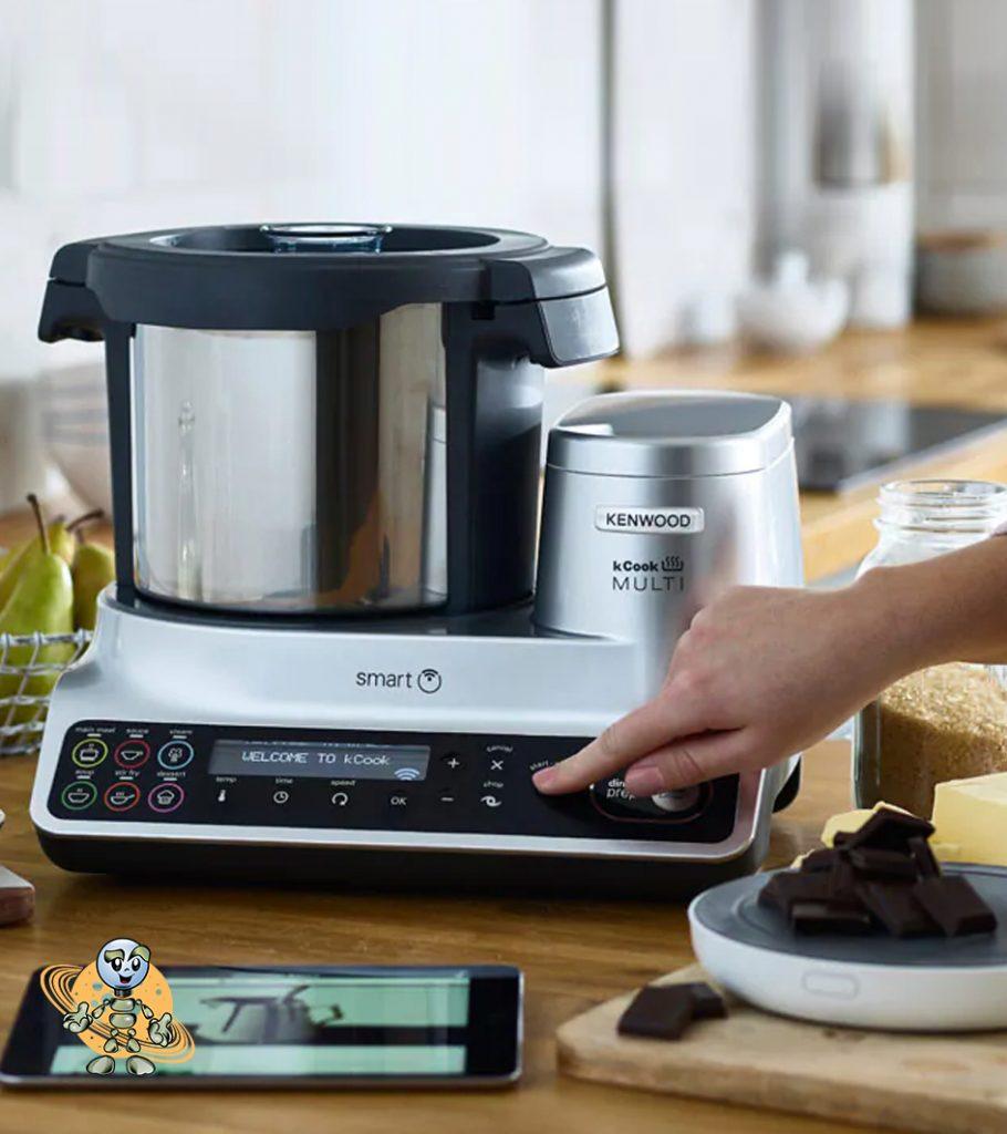 univers robot avis robot cuisine multifonctions Multi Smart CCL455SI La nouvelle génération de robot connecté