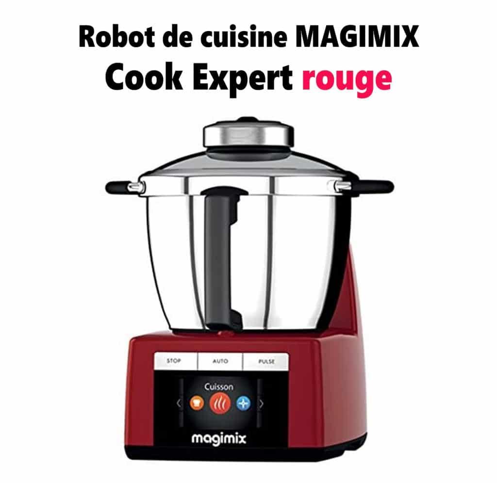 magimix-rouge univers robot avis robot cuisine multifonctions