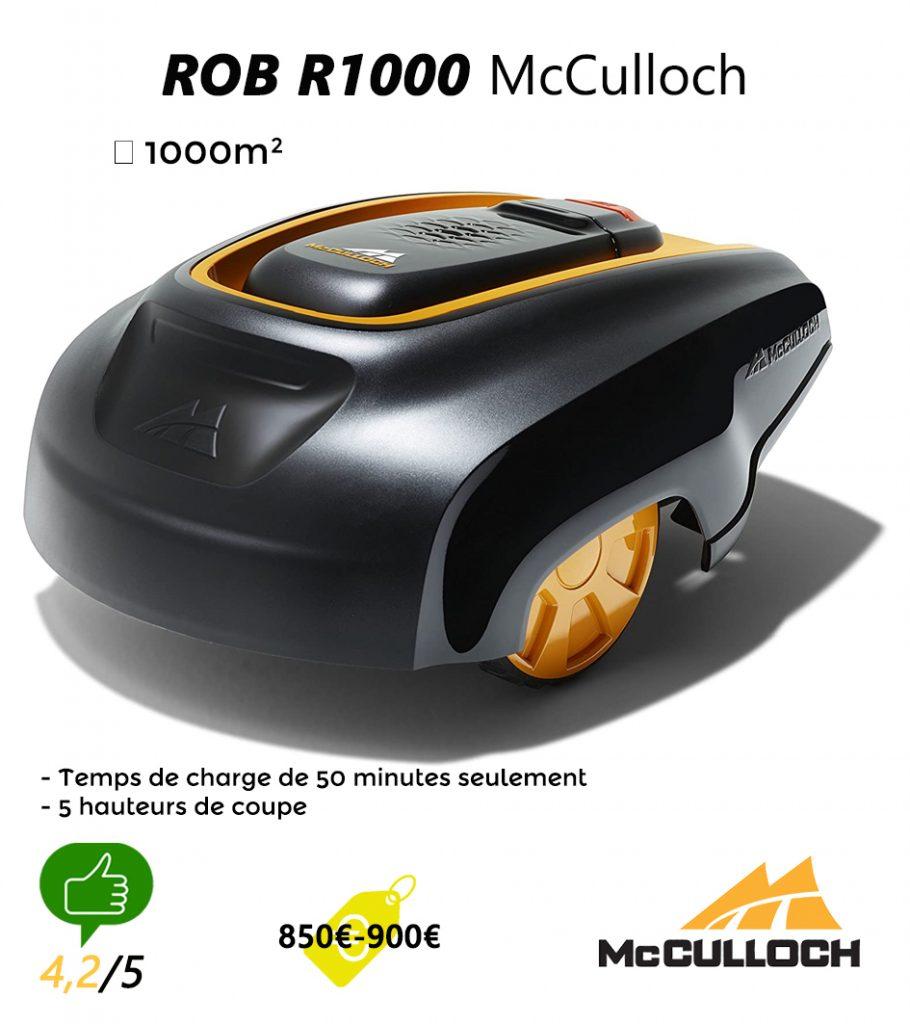 avis robot tondeuse UNIVERS-ROBOT-ROB-r1000-McCulloch