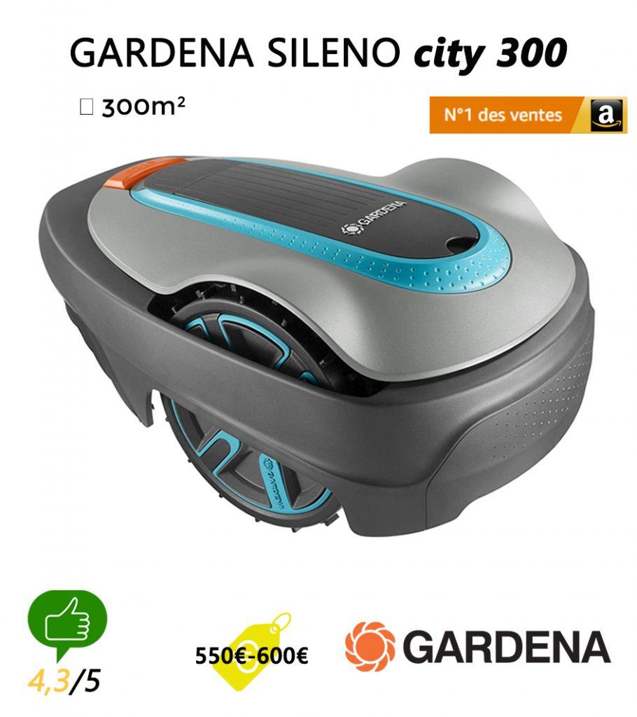 avis robot tondeuse Universrobot-Gardena-sileno-city-300