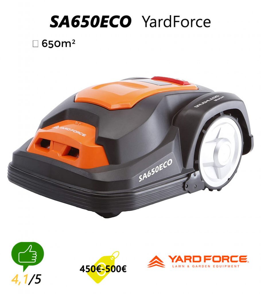 Avis robot tondeuse Universrobot-Yard-Force-RobotTondeuse-SA650ECO