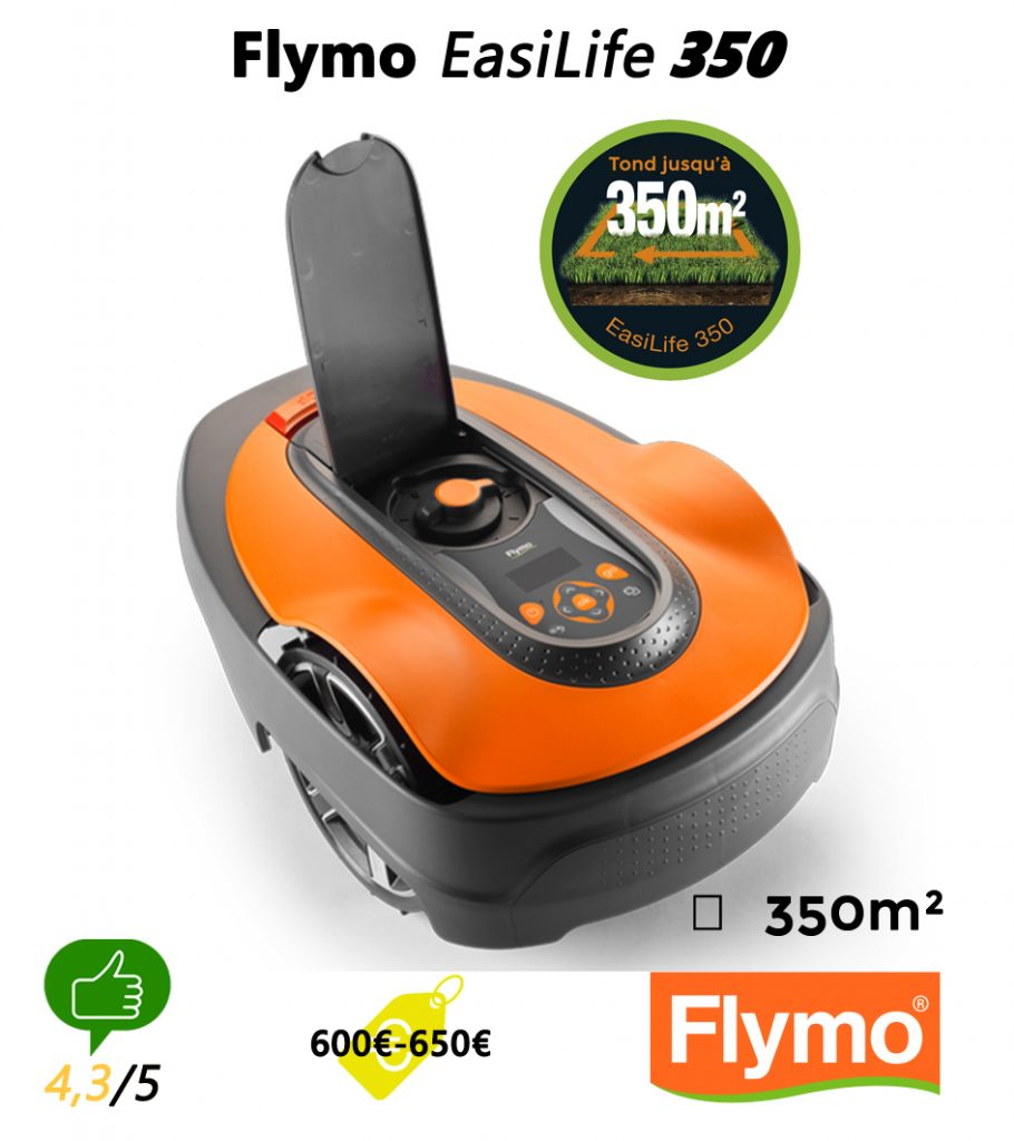 Robot tondeuse univers-robot-flymo-easilife-350
