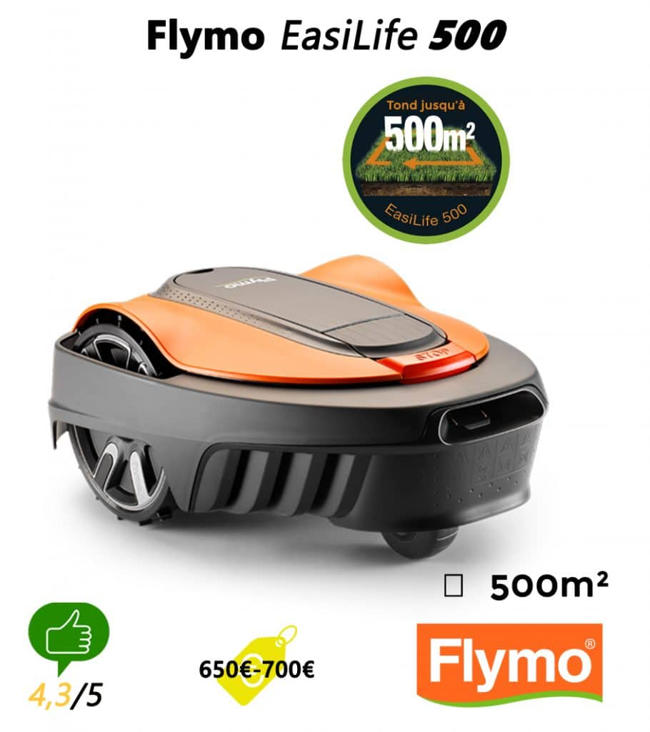 Robot tondeuse univers-robot-flymo-easilife-500