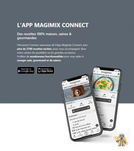 L app connect cuisine guidée MAGIMIX UNIVERSROBOT