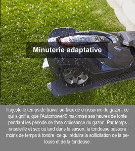 Minuterie-adaptative univers robot avis avantages
