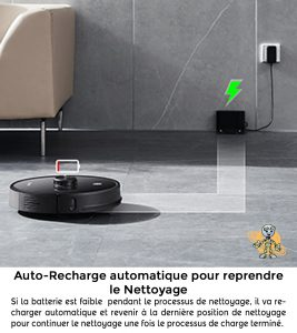 PROSCENIC 2 UNIVERS ROBOT autorecharge nettoyage