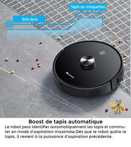 PROSCENIC 2 UNIVERS ROBOT boost de tapis