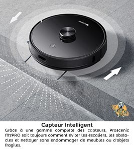 PROSCENIC 2 UNIVERS ROBOT capteur intelligent