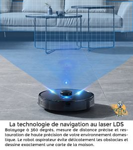 PROSCENIC 2 UNIVERS ROBOT navigation laser