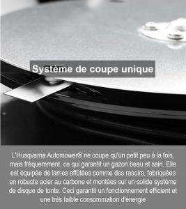 Systeme-de-coupe-unique avantage robot husqvarna Système-de-coupe-unique.