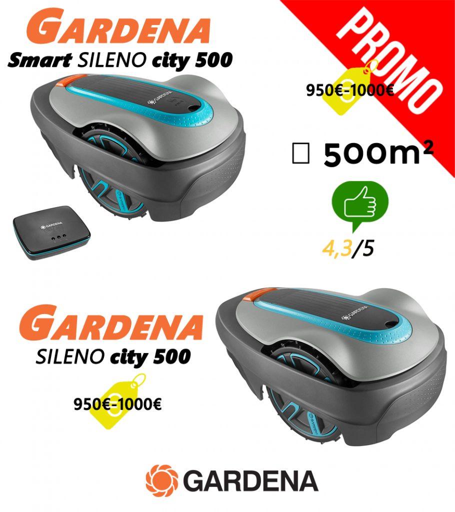 Avis robot tondeuse UNIVERS-ROBOT-gardena-sileno-city-500-et-smart