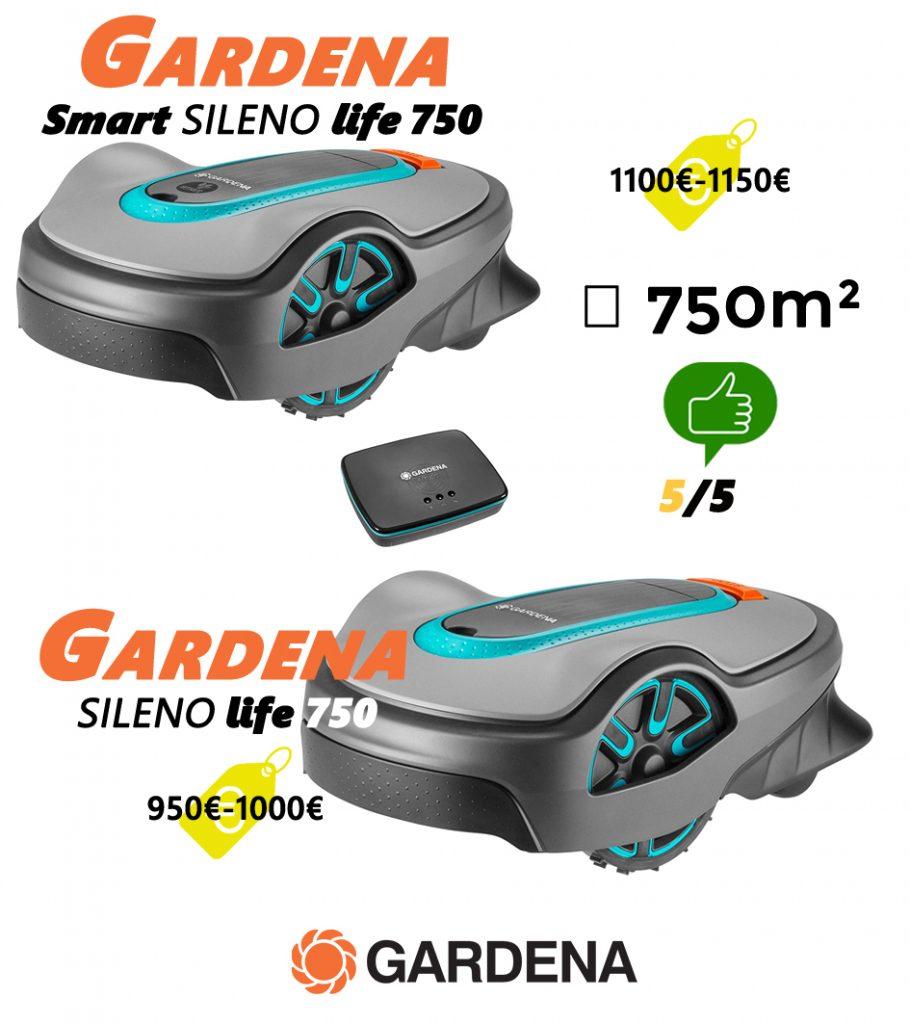 Robot tondeuse avis UNIVERS-ROBOT-gardena-sileno-life-smart-750