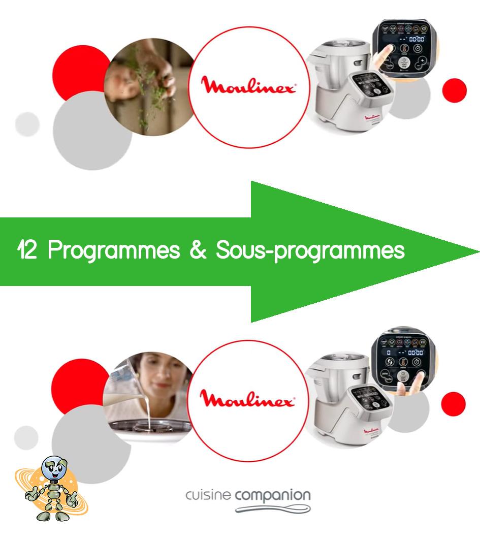 Univers robot companion xl introduction avantages programmes et sous programmes