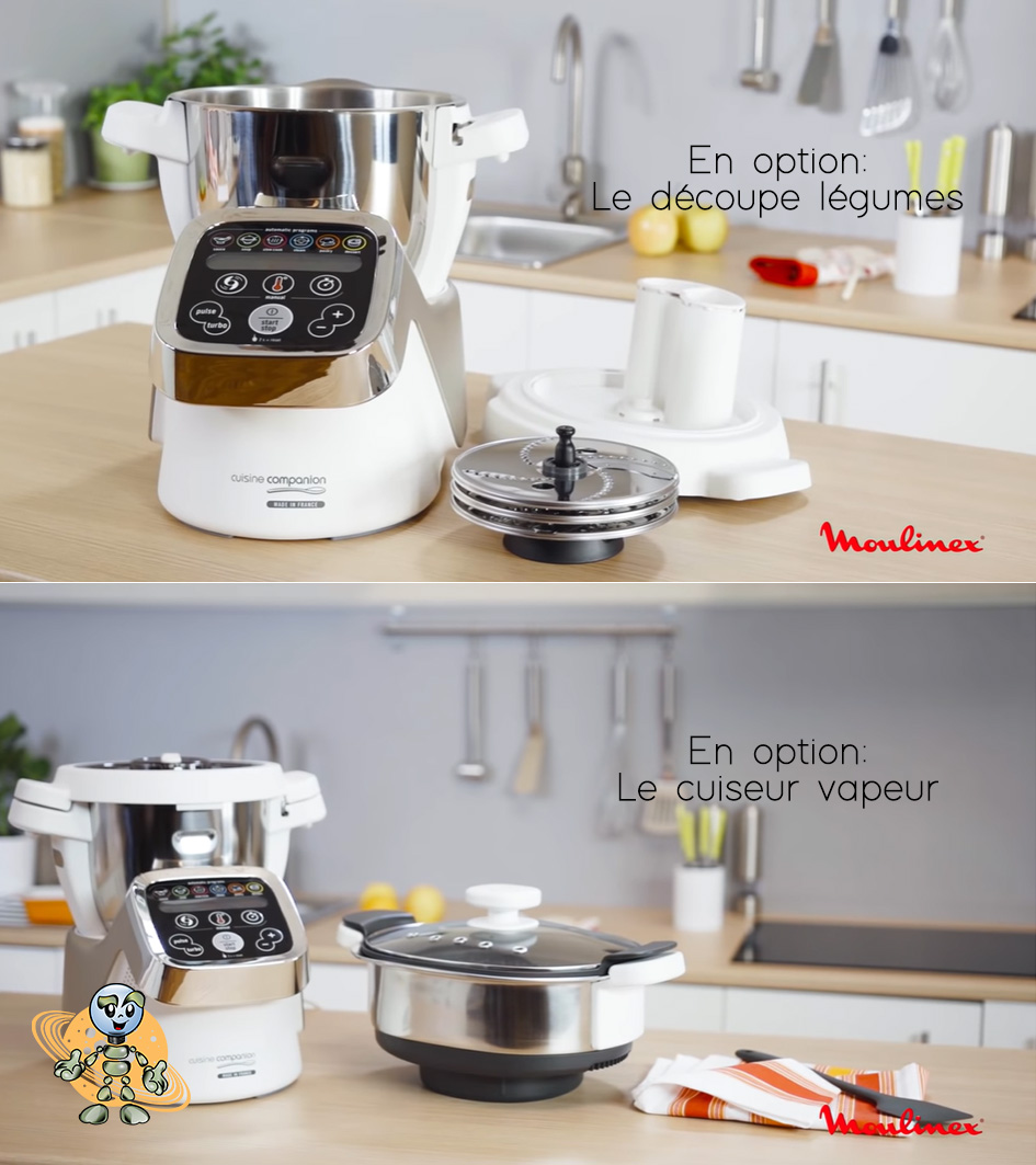 Univers robot companion xl les options