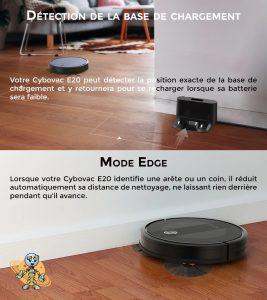 Univers robot les plus mode edge et CHARGEMENT du cebovac E20