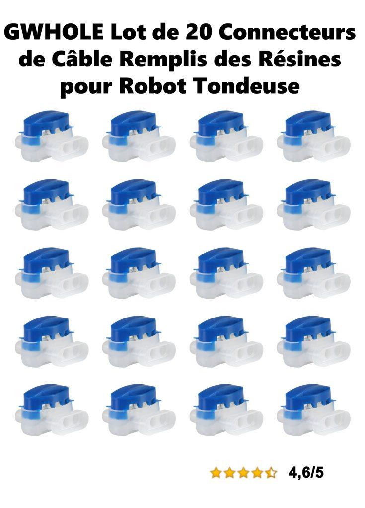 Universrobot-Gardena-GWHOLE-Lot-de-20-Connecteurs-de-Cable-Remplis-des-Resines-pour-Robot-Tondeuse-Automower.