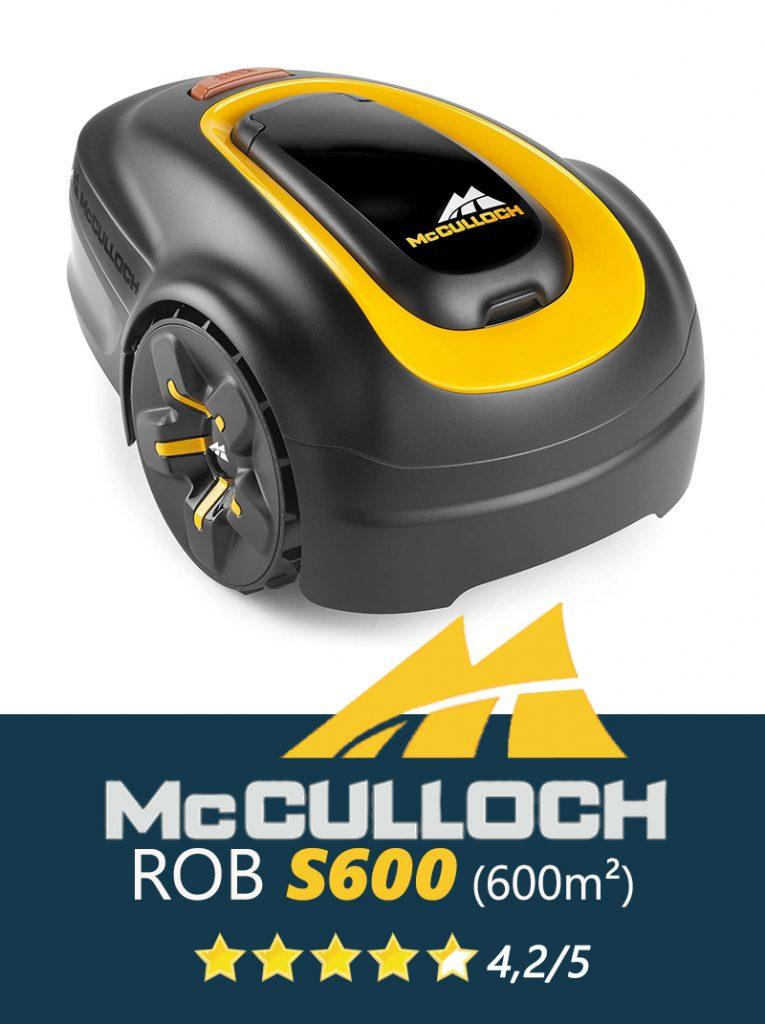 Robot tondeuse Universrobot-McCulloch-R600