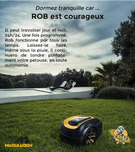 Universrobot- mcculloch r600 2020 9