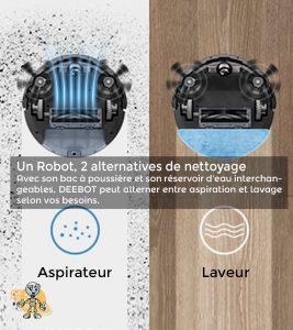 avantages en images ecovacs deebot laveur aspirateur