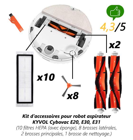 kit-accessoires-Kyvol Universrobot avis et comparatifs