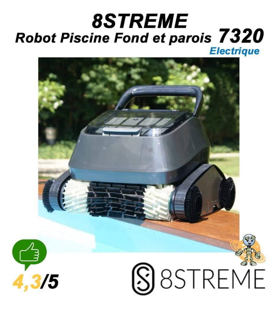 UNIVERS-ROBOT-8STREME-7320-ROBOTIC-POOL-CLEANER